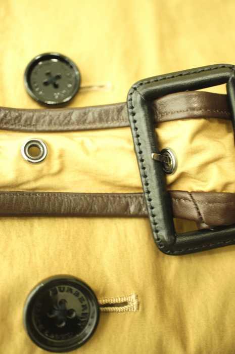 BURBERRY BLACK LABEL バーバリーブラックレーベルトレンチコート サイズ Mメンズ 男性 MEN ライトアウター ベージュ × ブラウン系8 000円以上で送料無料古着USED10P03Sep16vy80OmwNn