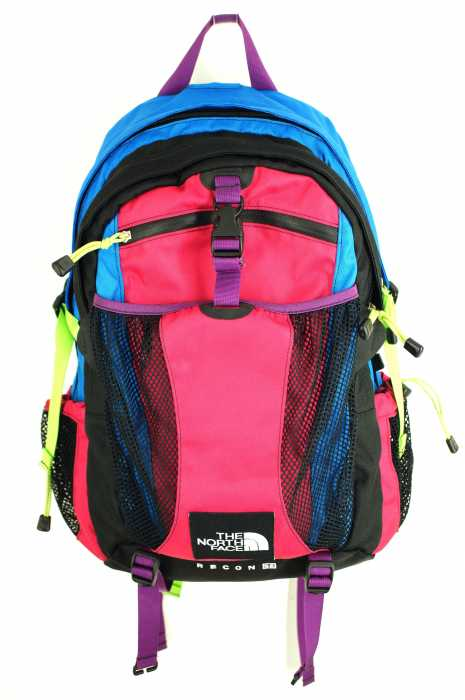 9987f24d5 The North Face THE NORTH FACE backpack men - pink system X blue system  RECON SE リーコンエスイーレイジーブルーアスター