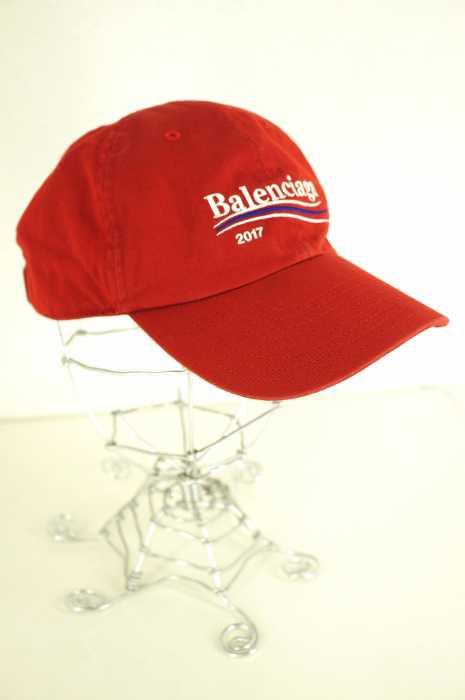 9f6290429ea73 バレンシアガ BALENCIAGA cap hat size notation nothing men campaign logo embroidery