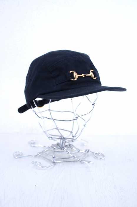 シュプリーム Supreme キャップ帽子 メンズ - 黒系  Horsebit Camp Cap【中古】【ブランド古着バズストアBAZZSTORE】【171019】