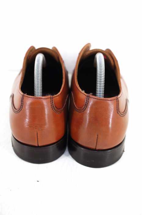 lloyd footwear england ロイドフットウェア Uチップ・Vチップ メンズ茶系 UK 8 5 Vチップレザードレスシューズ ブランド古着バズストア110918IbyYf7g6v