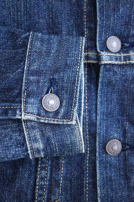リーバイス Levi's デニムジャケット メンズ青系 JPN M 3rd Denim Jacket ブランド古着バズストア080619OXPiukZ