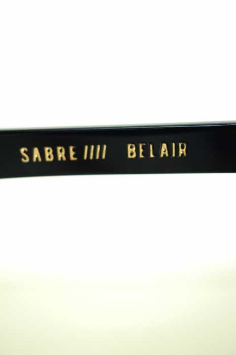 セイバー SABRE サングラス メンズ黒系 × ゴールド系BELAIR ブランド古着バズストア020719HD29WYIE