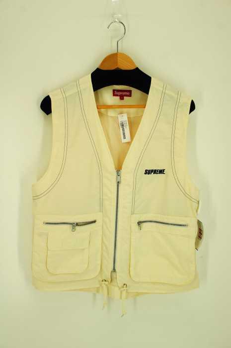 シュプリーム Supreme ベスト・ジレ メンズ 2019年春夏新作 白系 JPN:S 日本サイズ:S 相当 nylon cargo vest【中古】【ブランド古着バズストアBAZZSTORE】【300120】