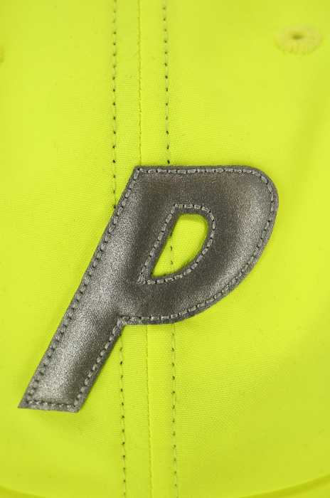 8cc2ca4858a Palace PALACE cap hat men - silver system X yellow system HI-VIS P 6-PANEL  neon color P logo 6 panel cap