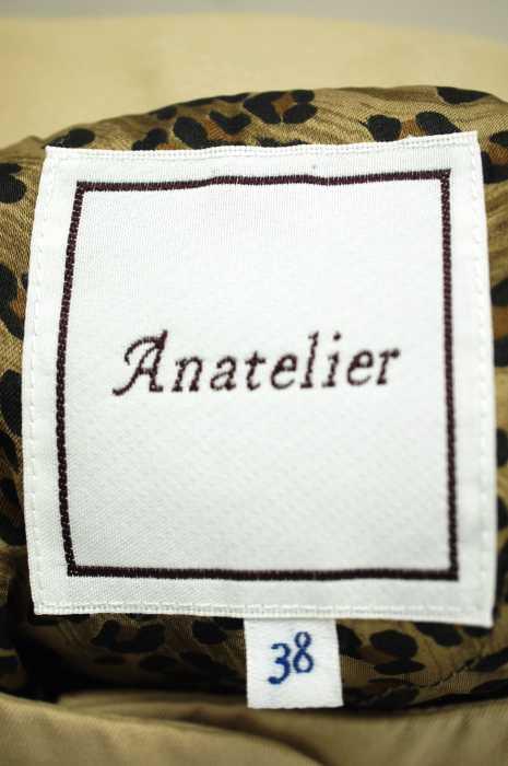 anatelier アナトリエノーカラーコート サイズ 38レディース 女性 WOMEN ライトアウター ベージュ系4LAj5Rqc3