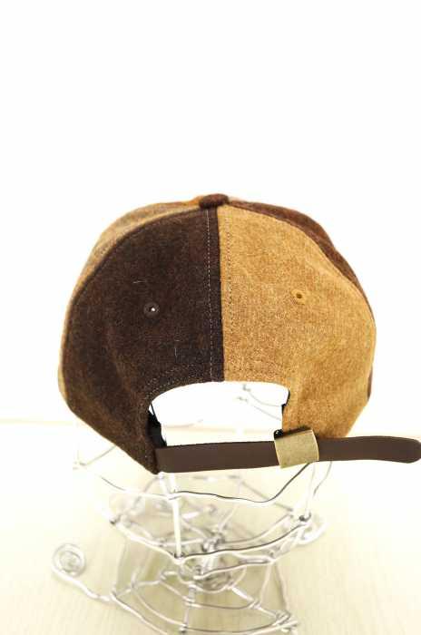 ノア NOAH キャップ帽子 メンズ 2019年秋冬新作 茶系ウール6パネルキャップ ブランド古着バズストアBAZZSTORE251019CxdBoe