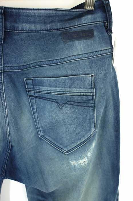 DIESEL ディーゼルFayza ダメージ加工デニムパンツ サイズ 25レディース 女性 WOMEN パンツ ブルー系8 000円以上で送料無料古着USED10P03Dec16cRjL34q5A