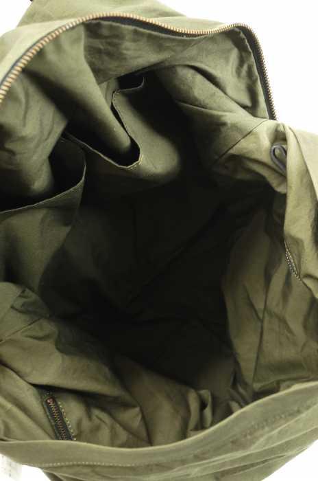 MARGARET HOWELL マーガレットハウエルハンドバッグ サイズ 表記無メンズ レザー切替ハンドバッグブランド古着バズストア110118vwO8mNn0