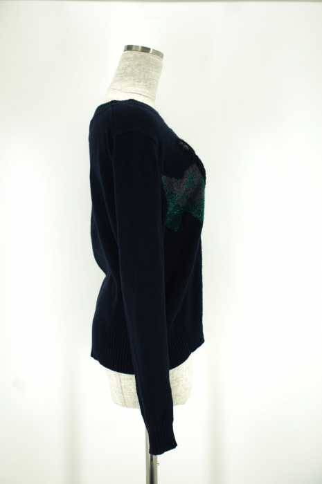 MUVEIL ミュベール2016 クマセーターサイズ 38レディース 女性 WOMEN トップス ネイビー系8 000円以上で送料無料古着USEDOXPkZiTlwu