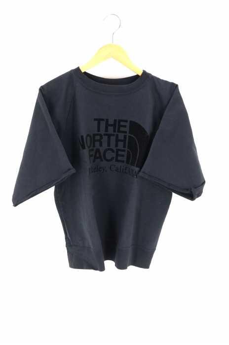 ノースフェイスパープルレーベル THE NORTH FACE PURPLE LABEL クルーネックTシャツ レディース - グレー系 S 10oz H/S Crew Neck Sweat【中古】【ブランド古着バズストアBAZZSTORE】【220320】