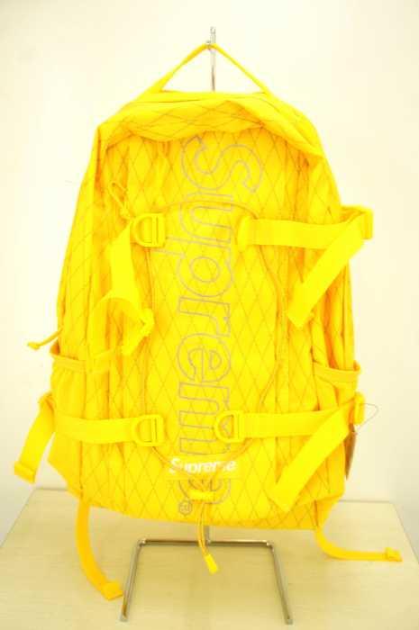 シュプリーム Supreme バックパック メンズ 2018年秋冬新作 黄系 18FW backpack【中古】【ブランド古着バズストア】【300918】