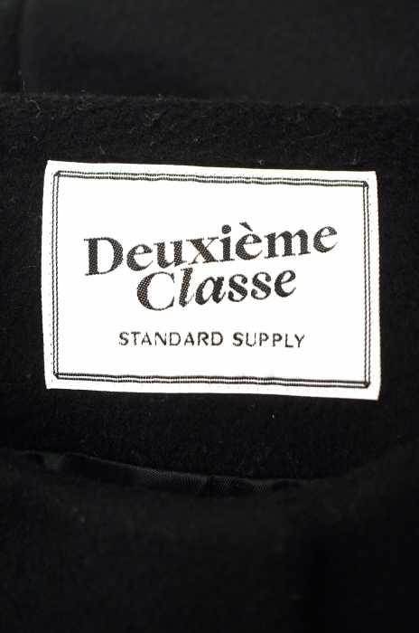 DEUXIEME CLASSE ドゥーズィエムクラスコート サイズ 36レディース ウール二重織りノーカラーコートブランド古着バズストア301116T1JF3lKc5u