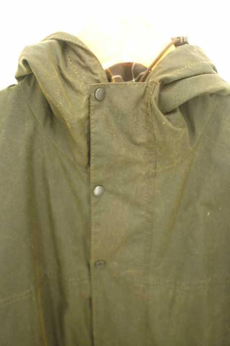 バブアー Barbour ミリタリージャケット メンズ緑系A875 CLASSIC DURHAM JACKET ブランド古着バズストア260519m0wNn8
