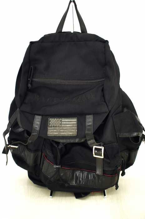 BRIEFING × Ron Herman × BACK BONE バックパック メンズ - 黒系 【中古】【ブランド古着バズストア】【280918】