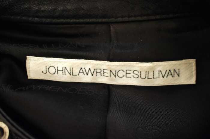 JOHN LAWRENCE SULLIVAN ジョンローレンスサリバンレザージャケット サイズ 36メンズ キルティングレザージャケットブランド古着バズストア110517nOwk0P
