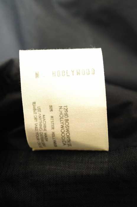エヌハリウッド N HOOLYWOOD ステンカラーコート メンズ 2016年新作 黒系 40 ステンカラーコート ブランド古着バズストア020417EHI9YWD2