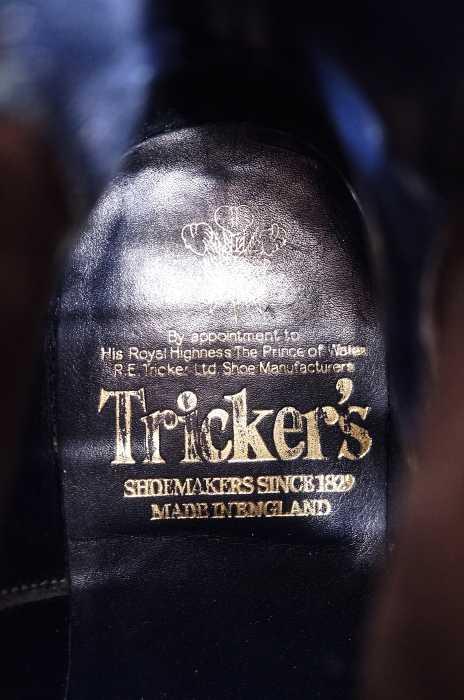 Tricker's トリッカーズブーツ サイズレディース ウイングチップ サイドゴアブランド古着バズストア021217ED2H9I