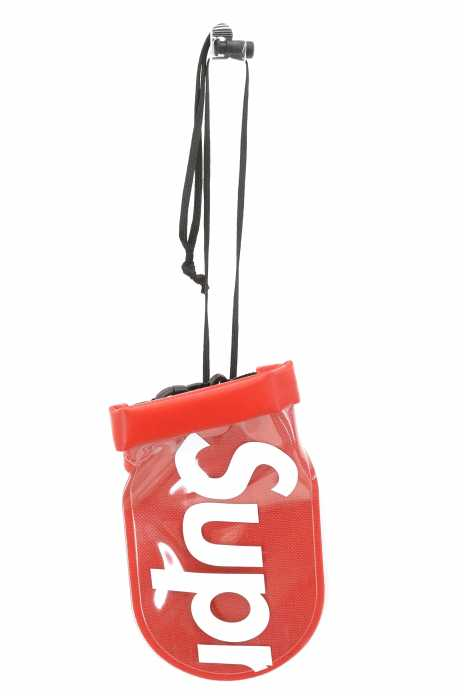 シュプリーム シールライン supreme × SEALLINE アクセサリーポーチ メンズ - 赤系  See Pouch【中古】【ブランド古着バズストアBAZZSTORE】【130919】