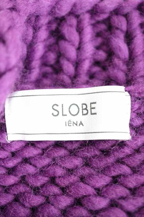 イエナスローブ IENA SLOBE カーディガン レディース 2018年秋冬新作 紫系ハンドケーブルニットカーディガン ブvNw8Omny0