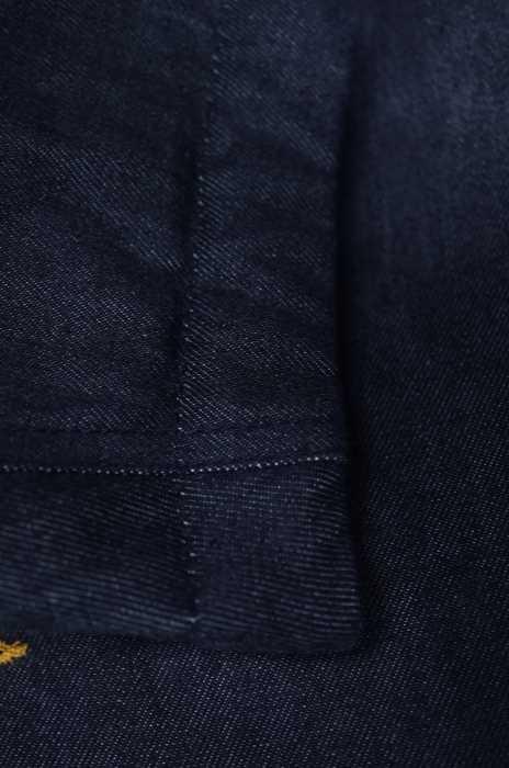 ウールリッチ WOOLRICH ダウンジャケット メンズ茶系 × 青系 import XS ARCTIC PARKA デニムアークティックパーカー ブランド古着バズストア260618jRAq34L5