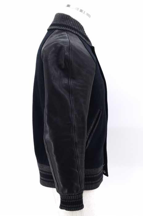 ロットワイラー ROTTWEILER スタジャン メンズ黒系 JPN S R STADIUM JUMPER TYPE1 ブランド古着バズストア151217eWH2EDI9Y