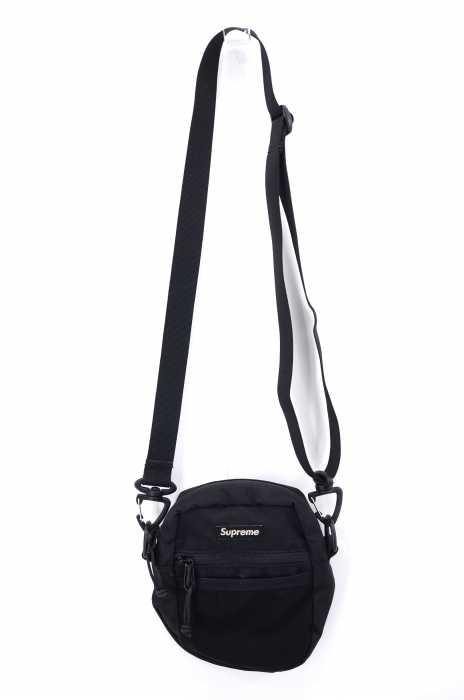 シュプリーム Supreme ショルダーバッグ メンズ 2017年春夏新作 黒系  17SS CORDURA Ripstop Nylon Small Shoulder Bag ショルダーバッグ【中古】【ブランド古着バズストアBAZZSTORE】【260120】