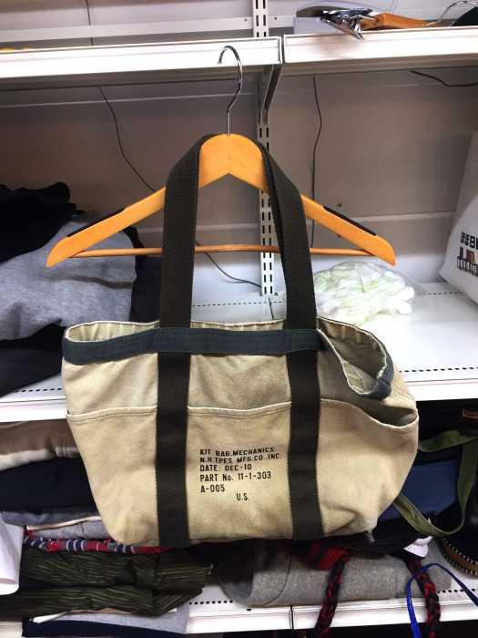 エヌハリウッド N HOOLYWOOD ハンドバッグ メンズ緑系ミリタリーハンドバッグ ブランド古着バズストアBAZZSTORE020220kXilPwOZuT