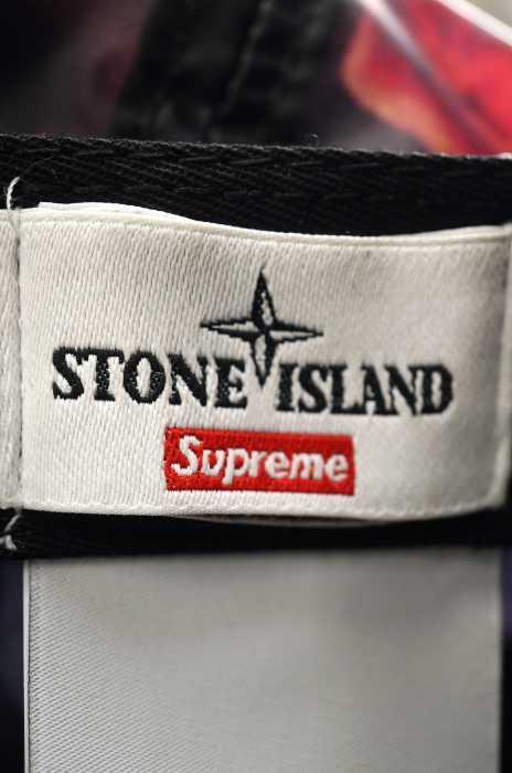 Supreme×STONEISLAND(シュプリーム×ストーンアイランド)キャップ帽子サイズ表記無メンズLamy6-Panel【】【ブランド古着バズストア】【120518】