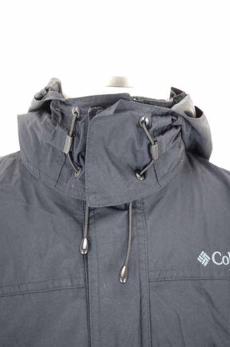 コロンビア Columbia マウンテンジャケット メンズ黒系 JPN M OMNI TECHフリースライナー ブランド古着バズストア220518kTXiPZuO
