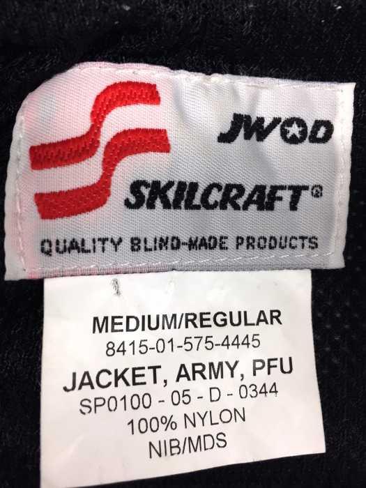 スキルクラフト skilcraft ミリタリージャケット メンズグレー系 MEDIUM REGULAR U S ARMY PFU JACKET リフレクターデジカモ トレーニングジャケット ナイロンジャケット ブランド古着バズストアBAZZSTORE020320lJuTK5F1c3