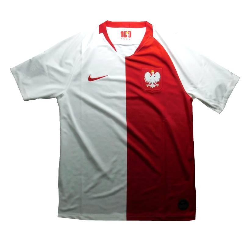 ポーランド代表 100周年記念 ホーム 半袖 ユニフォーム NIKE ユーロ2020予選(正規品/メール便可/メーカーコードAR3859 100)