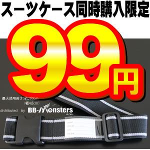 日本 激安スーツケース多数あり スーツケース同時購入者限定 スーツケース 訳あり商品 激安価格のためお一人様1本限り ベルト