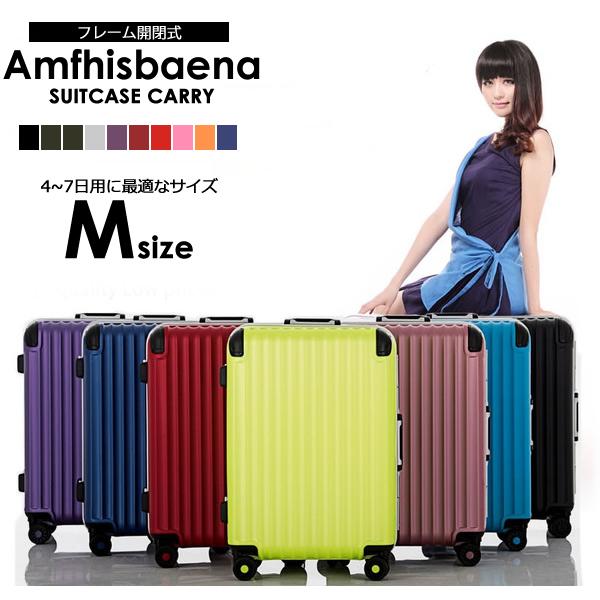 Wキャスター搭載スーツケース スーツケース Mサイズ 4~7日用 ※アウトレット品 スーツケース中型 TSAロック搭載 キズに強いマットタイプスーツケース 送料無料 キズに強いマットタイプスーツケーススーツケース キャリーケース 7泊 大容量 6泊 おしゃれ 丈夫 4泊 キャリーバック 旅行カバン 価格 交渉 送料無料 トランクケース 5泊