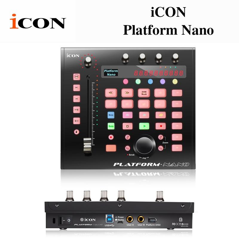 PLATFORM NANO(プラットフォームナノ) | iCon モータライズドフェーダーを1基搭載 MIDIコントロールサーフェイス 送料無料