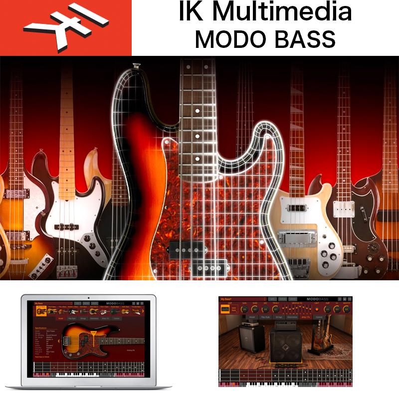 MODO Monthプロモーション IK MULTIMEDIA | MODO BASS / IKマルチメディア モドベース / フィジカルモデリングによるエレクトリックベースのバーチャルインストゥルメント 送料無料