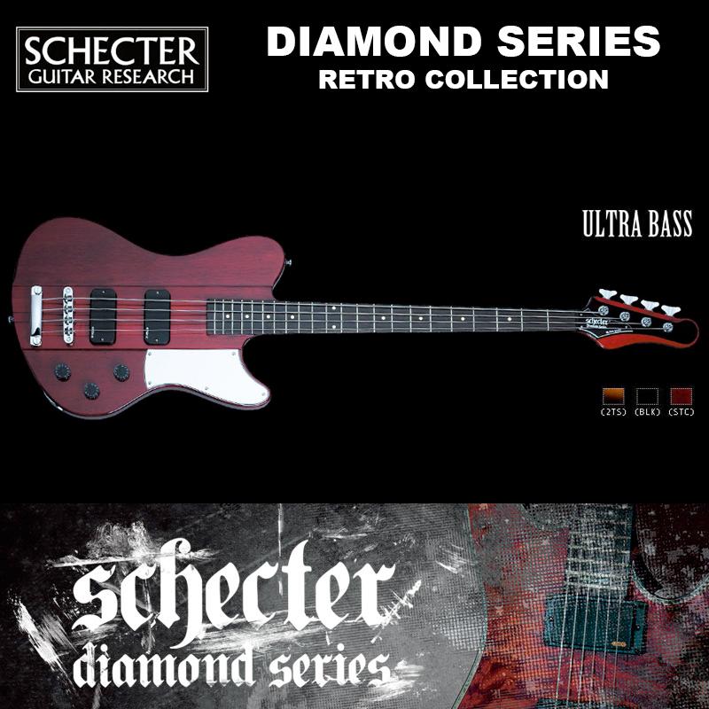 シェクター SCHECTER ベース / ULTRA BASS | ウルトラベース レトロコレクション チェリー ダイヤモンドシリーズ 送料無料