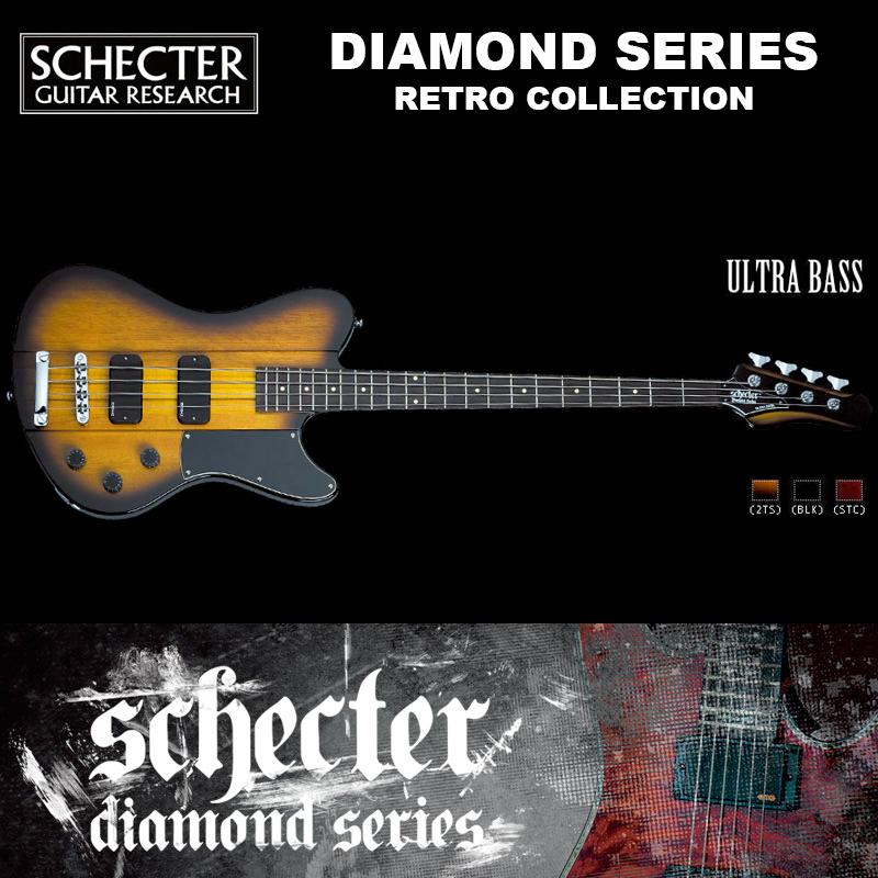 シェクター SCHECTER ベース / ULTRA BASS | ウルトラベース レトロコレクション 2トーンサンバースト ダイヤモンドシリーズ 送料無料