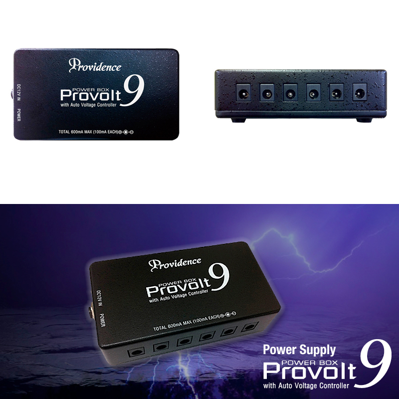 Providence PROVOLT9 PV-9 / プロヴィデンス プロボルト9 PV9 エフェクター用パワーサプライ(9.6V) 送料無料