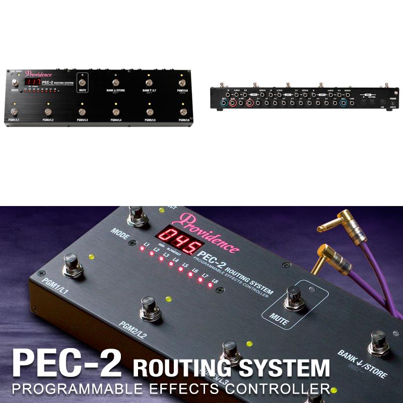 Providence PEC-2 / プロヴィデンス ルーティングシステム PEC2 プログラマー エフェクター 送料無料