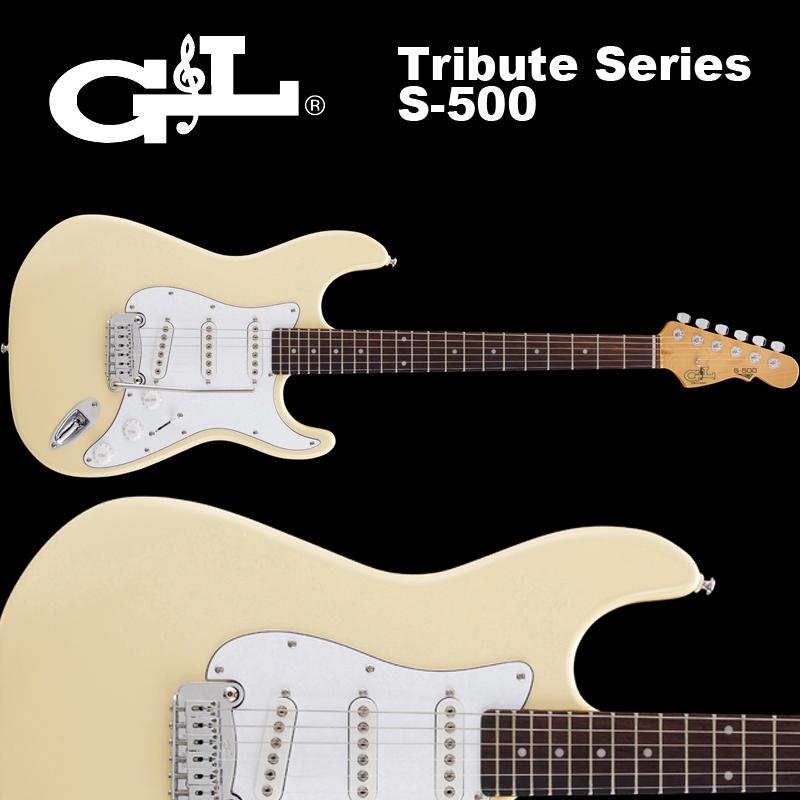 トリビュート S-500シリーズ ビンテージ・ホワイト GL Tribute Series / S-500 Vintage White / トリビュート S500 ヴィンテージ ホワイト ストラト 国内正規品 送料無料