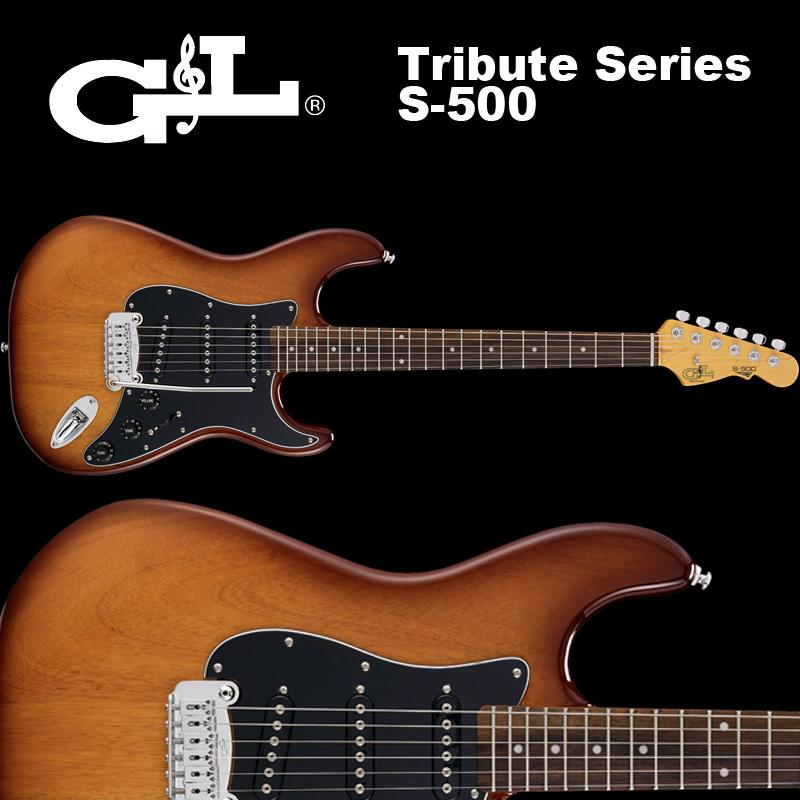 G&L Tribute Series / S-500 Tobacco Sunburst / トリビュート S500 タバコ サンバースト ストラト 国内正規品 送料無料