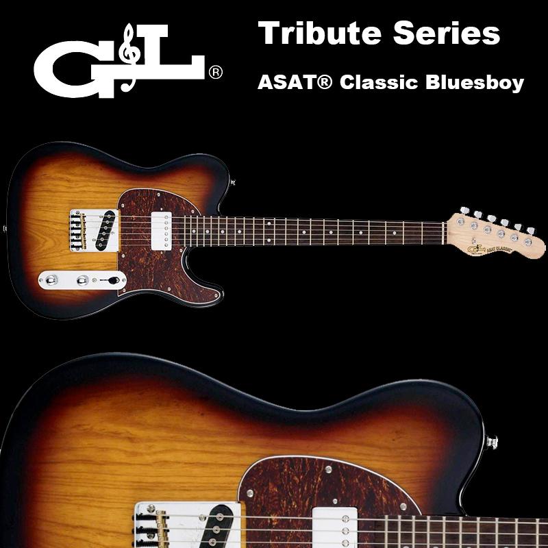 G&L Tribute Series / ASAT Classic Bluesboy / アサート クラシック ブルースボーイ レイクプラシッドブルー テレキャスター 国内正規品 送料無料