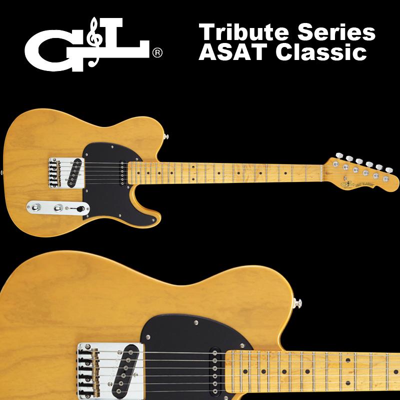 G&L Tribute Series / ASAT Classic Butterscotch Blonde / トリビュート アサート クラシック バタースコッチブロンド 国内正規品 送料無料