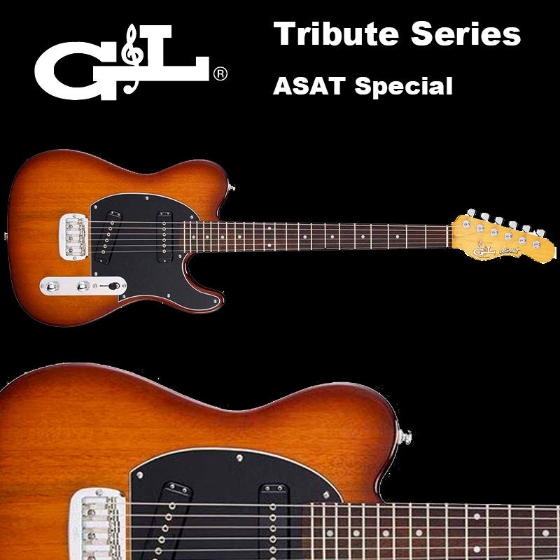G&L Tribute Series / ASAT DASAT Special Tobacco Sunburst/ アサート スペシャル サンバースト テレキャスター 国内正規品 送料無料