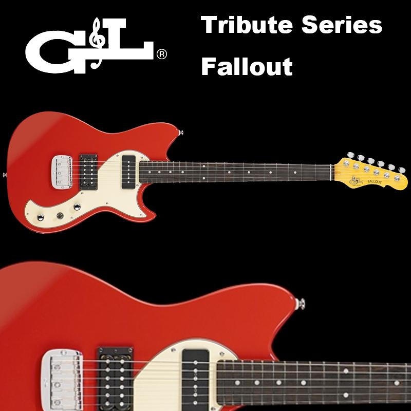 G&L Tribute Series / Fallout Fullerton Red / フォールアウト レッド(赤) 国内正規品 送料無料