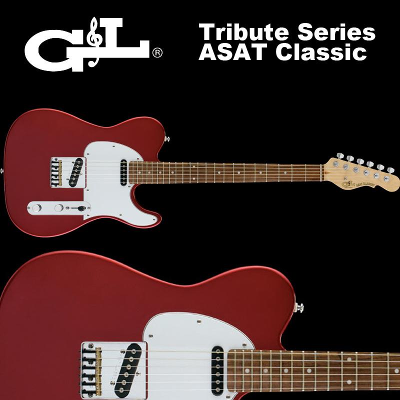 G&L Tribute Series / ASAT Classic Candy Apple Red / トリビュート アサート クラシック キャンディーアップルレッド 国内正規品 送料無料