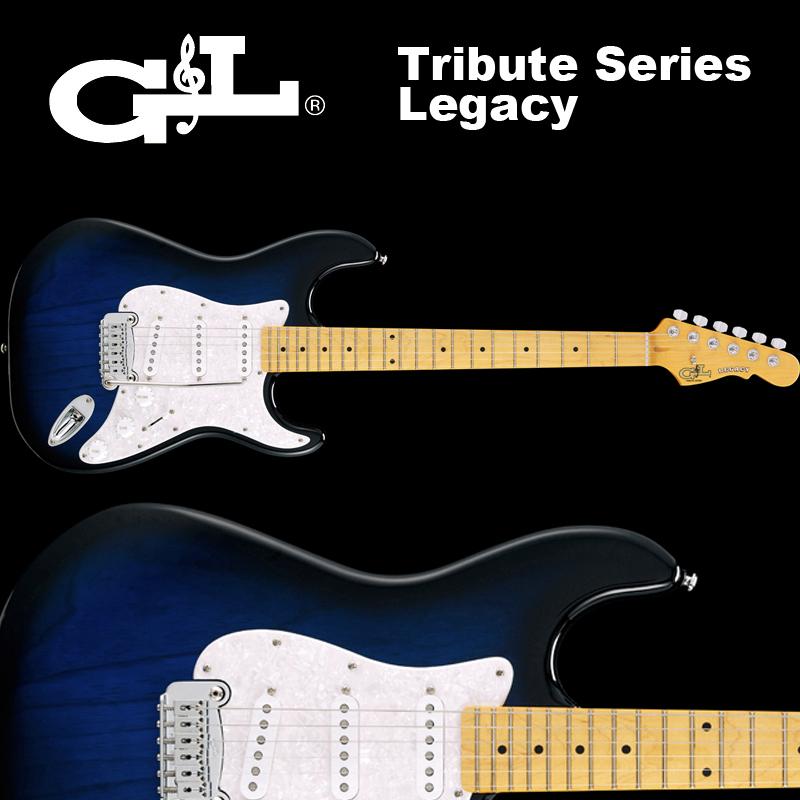 G&L Tribute Series / Legacy Blueburst / トリビュート レガシー ブルー バースト 国内正規品 送料無料