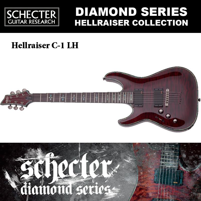 シェクター SCHECTER / Hellraiser C-1 LH BCH ヘルレイザーC1 左利き用(レフトハンド)ダイヤモンドシリーズ 送料無料