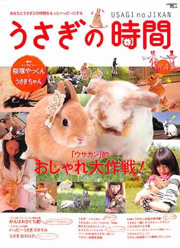 新品 うさぎの時間 No.4 ペット うさぎ 超人気 バーゲン本 値引き 小動物 ウサギ バーゲンブック 室内飼い
